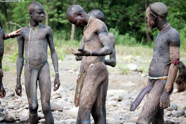 эрекция в племенах фото