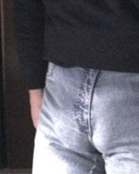 Jeans-bulge