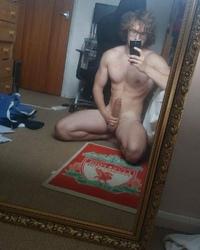 Hung white muscleguy