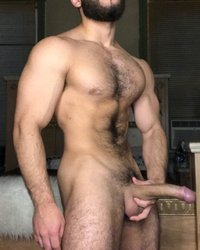 Hung Musclestud