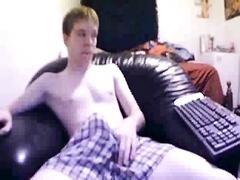 Huge cock skinny guy