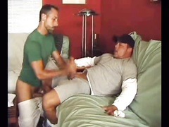 Jacking Off a Friends Big Cock