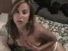 Pretty Blonde and Hung Boufriend Cum