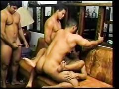 sexy brazilian gangbang