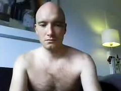 Webcam Bald Hot Dude