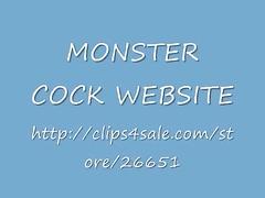 MONSTER COCK WEBSITE
