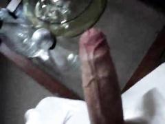 25 age boy cum on the table