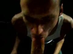 Sucking a Huge Penis