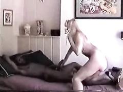 Blonde and HUGE black guy part 1
