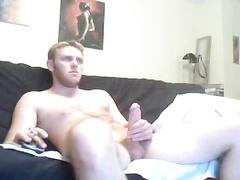 hot cock stroking