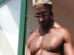 Big Ebony Prick For White Gay
