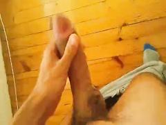 Big Cock Stroking