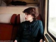 BIG DICK IN TRAIN (RETRO PORN)