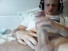 Big webcam boy