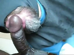 Sucking Hung Black