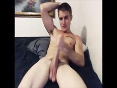 American Jock wanking on cam