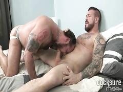 Rocco Steel fucks muscle bear