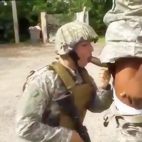 Army big  cock