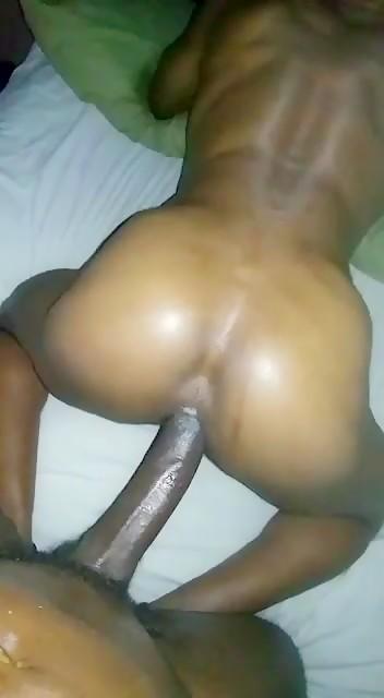 Huge dick bareback