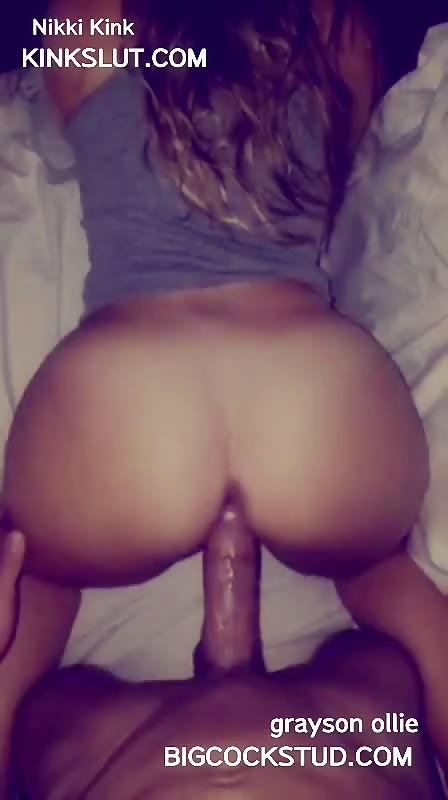 Nikki Kink Takes Graysons 10 Inch Cock