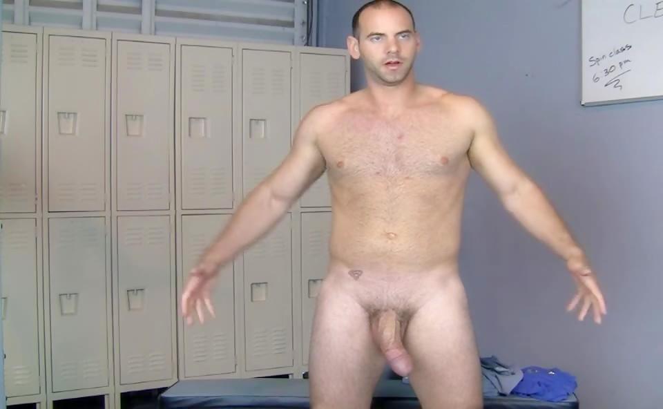 Girth Brooks hanging dick