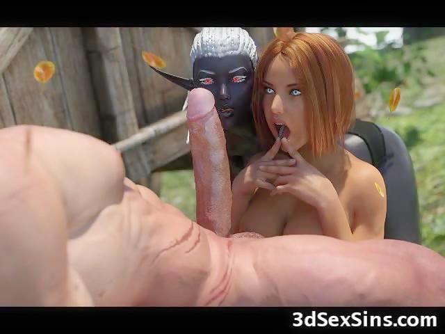 3D Monster Fantasy Orgies!